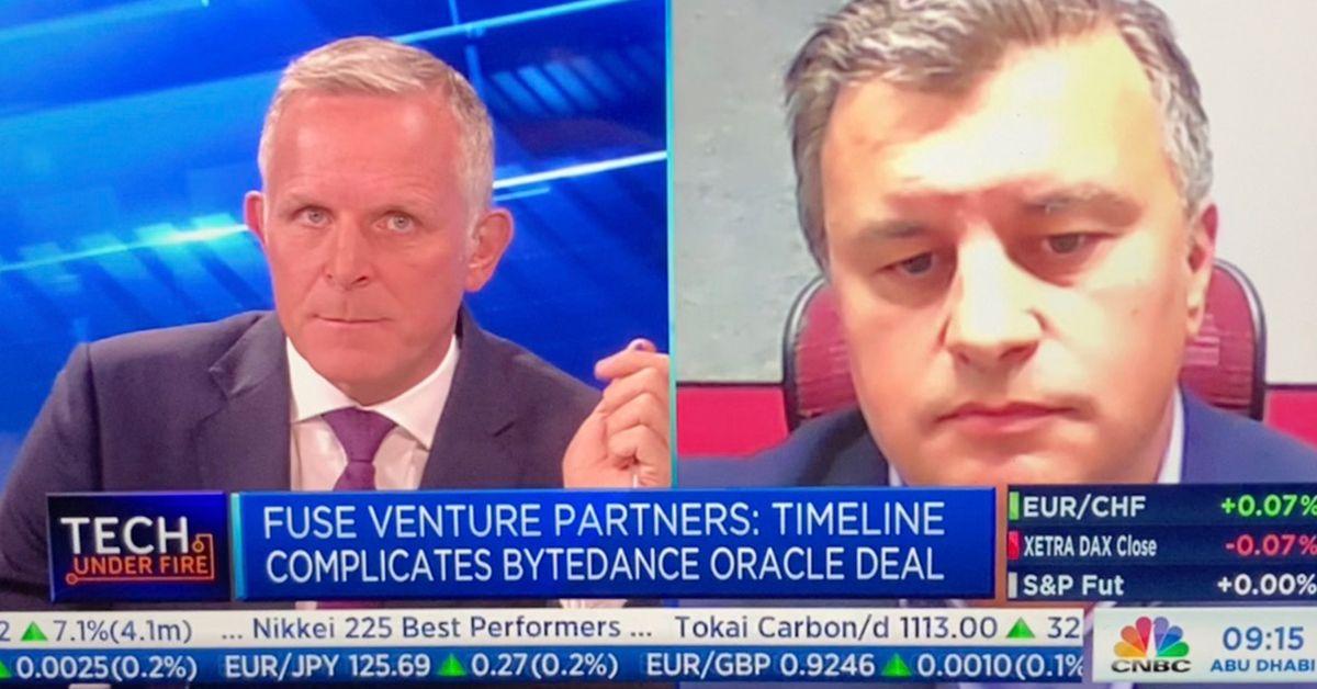 Spyro Korsanos talks TikTok with CNBC